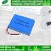 205068 paquete de la batería del polímero de la batería 8000mAh Li de la talla 3.7V Lipo de la batería recargable con poder más elevado