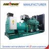 875kVA Diesel die van Cummins Generator wijd in Krachtcentrale wordt toegepast