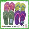 Heißes Sale Rubber Fashion Cheap Beach Slipper Flip Flops für Lady (RW25339U)