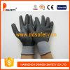 Nylon черные перчатки нитрила ультра тонкие польностью Coated, CE (DPU420)