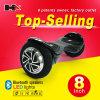Caliente vendiendo 2 ruedas de la vespa de equilibrio Hoverboard elegante del uno mismo con el LED de gran alcance