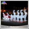 Motiv-Licht-Ren und Pferdeschlitten des LED-im Freien Weihnachtslicht-3D