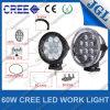 As luzes de trabalho da maquinaria da luz 60W do carro do diodo emissor de luz Waterproof IP67