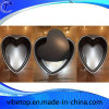 Cozimento Non-Stick Heart-Shaped Bakeware do bolo do aço de carbono
