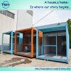 Vertiefung verzierte bewegliches Metallbehälter-Haus