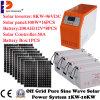 Pwnの太陽料金のコントローラの純粋な正弦波8000With8kw太陽インバーター