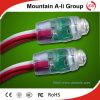LED Rosso-Color di lunga vita Perforation Lamp String con F5 LED Headlamp