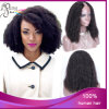 A máquina Curly do Afro brasileiro humano do cabelo fêz a peruca