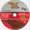 диск вырезывания 125X1X22mm супер тонкий для металла