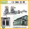 Ventana de PVC Perfil Manual de corte de la máquina