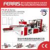 Taiwan-Entwurfs-große Geschwindigkeit vier Zeilen Shirt-Beutel, der Maschine herstellt