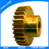 Messing-Hardware-Getriebe CNC, der Ersatzteil-Übertragungs-Fahrwerk maschinell bearbeitet