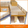 Mezzanin-Stahlkonstruktion-Fußboden-Zeichnung CAD