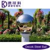 Jardín inoxidable de la bola de acero 304 que mira la fuente de agua de la bola