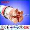 Кабель PVC проводника типа 5 RV-K гибкий медный изолированный XLPE