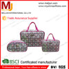 PU Mini Lady Cosmetic Holder низкой цены Китая с Fluorescence, Portable Folding Cotton Makeup Case