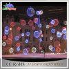 LED-Motiv-sehr großes Zeichenkette-Licht-Weihnachtsgelb-Kugel-Licht