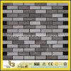 Wooden Mixed Grain Marble Mosaic Tile per Kitchen Backsplash