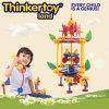 Mädchen Amusement Park Plastic Interlocking Garten Toy für Kids