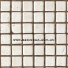 1*1cm White Travertine Tile Mosaic