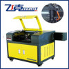 Estaca de alimentação do laser da tela principal dobro auto e máquina de gravura