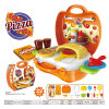 Le jouet en plastique de maison de théâtre de boutique pour font une pizza