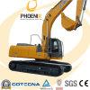 excavador de la correa eslabonada de 26ton XCMG Xe260c con capacidad del cubo 1.2 M3