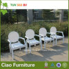 현대 쌓을수 있는 등나무 의자 대중음식점 옥외 정원 대나무 의자 (CF1005C)