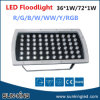 정원 Park, Green/Blue/White/RGB LED Flood Lamp 220V를 위한 36W/60W/72W/100W LED Rectugular Floodlight