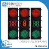 Conto alla rovescia verde di traffico del LED e di 2 colori di Digitahi rosso-chiaro 300mm 3