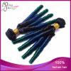 Уток волос девственницы горячей скручиваемости спирали Ombre 1b/Blue/Green бразильский