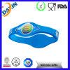 Fascia di manopola del silicone, Wristband promozionale del silicone,