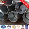 Bitumn Sicherheitsfaktor 1.5 polygonales 12m Stahl galvanisierter Pole