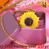 Pilote USB de cadeaux de fleur de bijoux de fabrication d'usine (YT-6274L3)