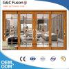 Alta qualità con il portello scorrevole di alluminio di vetro Tempered di prezzi di fabbrica