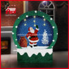Nuovo Style Snowing Christmas Decoration il Babbo Natale Inside con Music