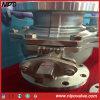 Dos piezas de fundición de válvulas de esfera flotante con bridas de acero