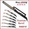 Digital LCD Pecial X Type Titanium Hair Curling Iron