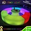 RGBによってつけられる棒LED半円のベンチを変更するラウンジの家具カラー