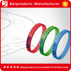 Wristband de encargo barato del silicón de la insignia de Debossed