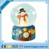 Globe de neige de Noël avec le bonhomme de neige à l'intérieur ! ! !