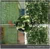 옥외 인공적인 가짜 정원 녹색은 플랜트를 산울타리로 두른다