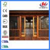 para las puertas deslizantes de la puerta de cristal del bloqueo de puerta de madera sólida de la venta