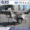Équipement de forage de puits d'eau de qualité mobile Hf120W