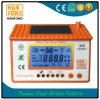 青いバックライトLED LCDの表示が付いている競争価格の効率10Aの太陽コントローラ