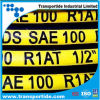 SAE 100 853 1sn en R1at/DIN 1/2  flexible hydraulische Schläuche