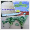 Material del agua/fabricante absorbentes de la savia