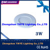 CE/RoHSのYaye Hot Sell Round 3W LED Panel Light /3W LED Panel Lamp