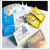 Tarjetas de papel promocionales de la impresión Niza del diseño respetuoso del medio ambiente