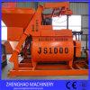 Mezclador concreto Js1000 del Gemelo-Eje para la venta con manera de descarga neumática